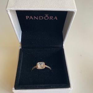 Pandora Timeless Elegance Ring- PANDORA ROSE
